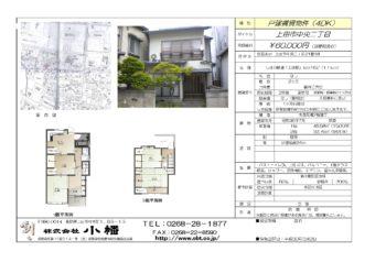 上田中央ショッピングパークまで徒歩3分の戸建賃貸物件