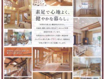 11/3(土)「天然木の家」折込チ・ラ・シ